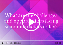 Watch the CIM Marketing Leadership Programme video