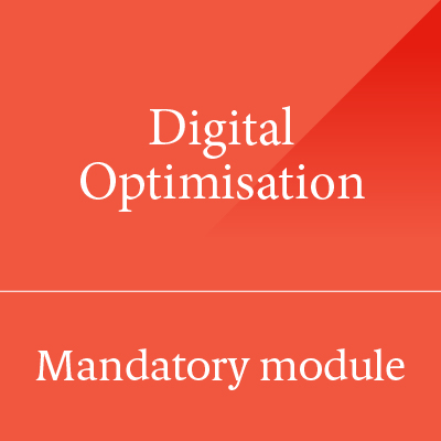 Digital Optimisation CIM Level 6 Diploma Module