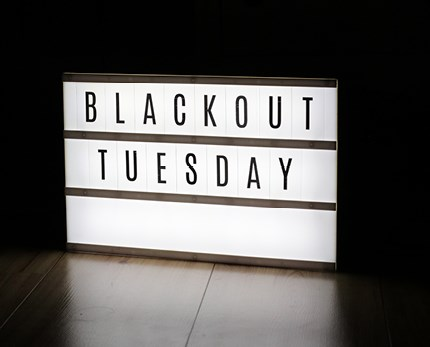 The rise and fall of #blackouttuesday
